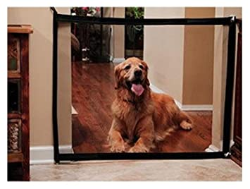 Stair Gate For Dogs Magic Gate, 180x72cm Mesh Gate Portable Fence Safety  Guard For Dogs