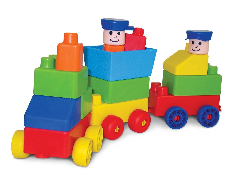 Edushape Juego de construcción para niños de 30 piezas (826028)