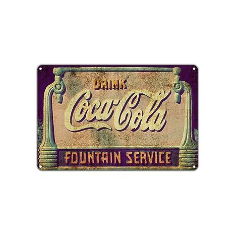 Amazon.com: Drink Coca Cola Fountain Service Soda Restaurant Vintage ...