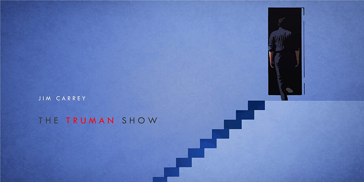 Image result for the truman show poster