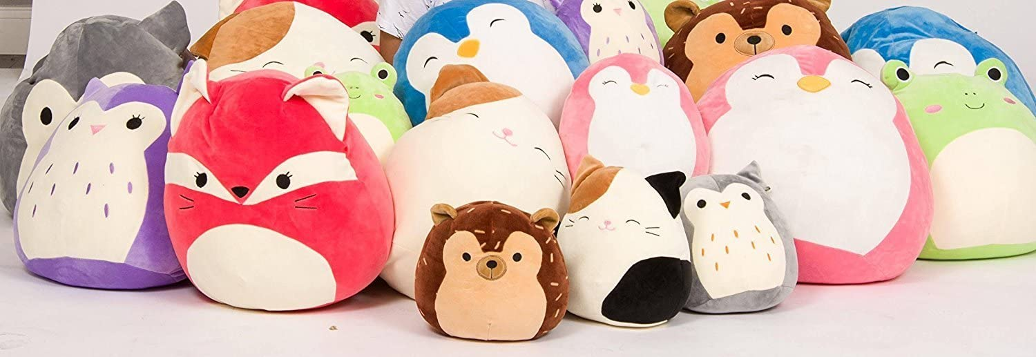 Squishmallow Kellytoy 13 Puff The Blue Penguin Super Soft Plush Toy Pillow Pet Pal Buddy Puff The Blue Penguin