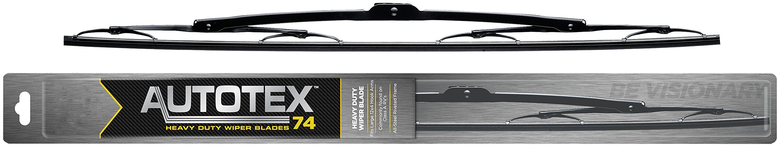 AutoTex Heavy Duty 74-32 74 Series 32'' Wiper Blade OEM Replacement Blades for Trucks, Equipment, Tractors, Boats, Buses. Genuine Automotive Supplies