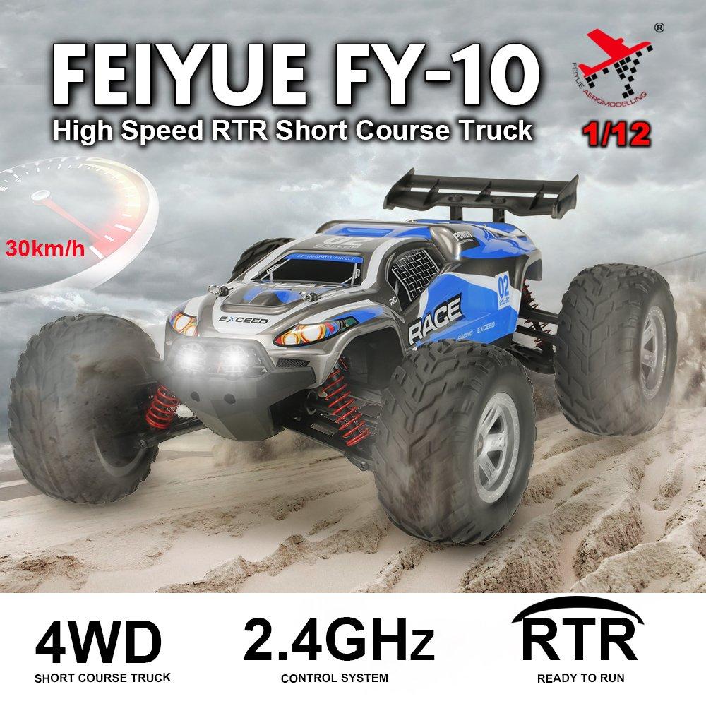 Feiyue FY-10 BRAVE 1/12 4WD 30km / h Hochgeschwindigkeits ...