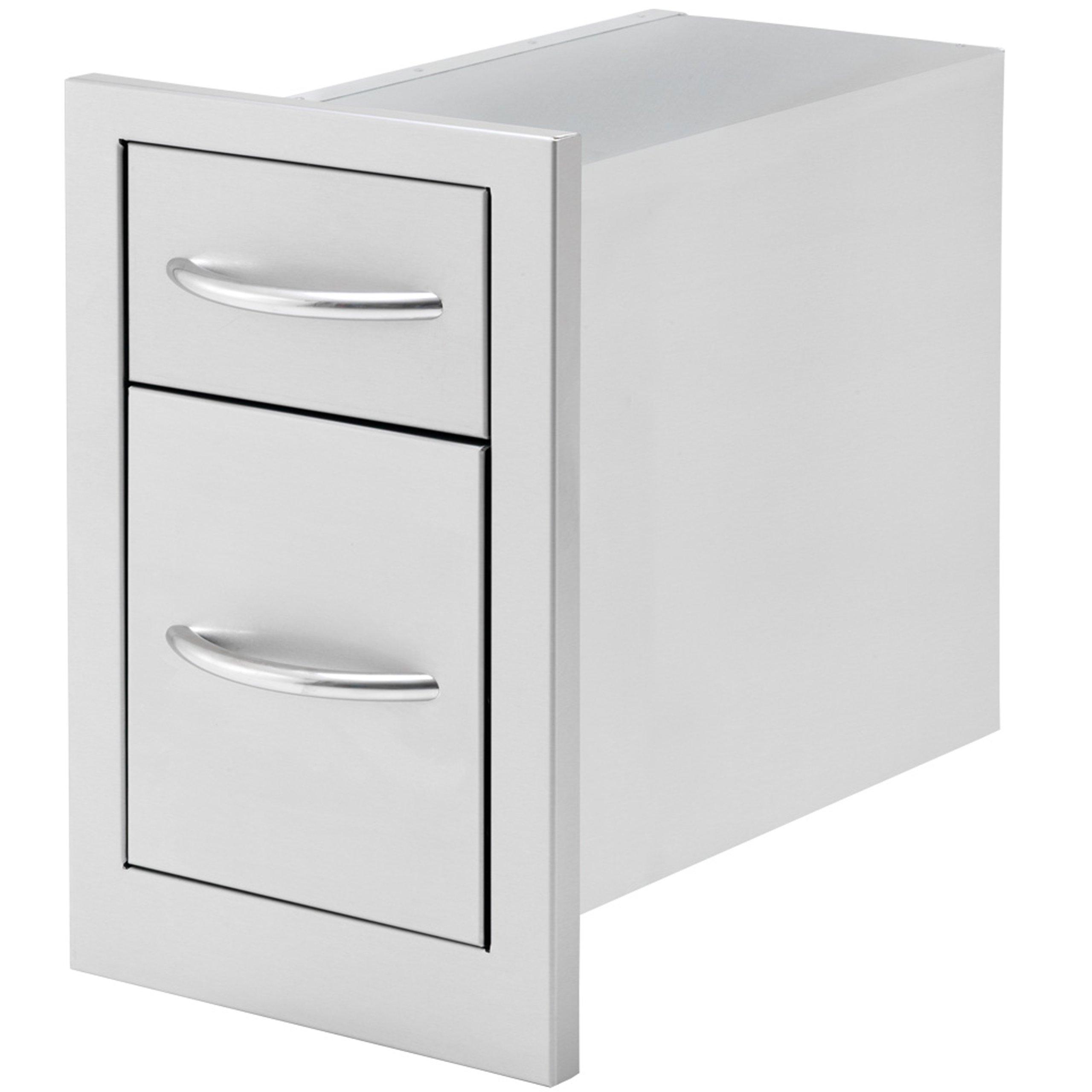 Cal Flame BBQ07868P 2 Drawer Storage Deep Drawer