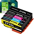 GREENBOX Remanufactured Ink Cartridge Replacement for Epson 273XL 273 T273XL Used in Expression XP-520 XP-820 XP-620 XP-610 XP-800 XP-810 Printer (1 Black, 1 Photo Black, 1 Cyan, 1 Magenta, 1 Yellow)