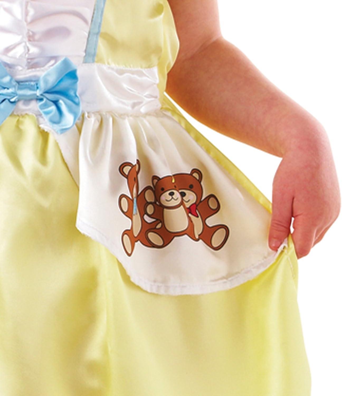 Disfraz de Ricitos de Oro para niñas en varias tallas: Amazon.es ...