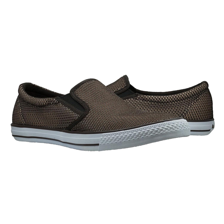 d6849e4407650 Burnetie Men's Chocolate Skid LL Mesh Sneaker