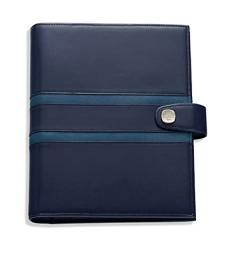 Cross Personal Agenda 1846 Leather Collection Cobalt Aegean Blue Case Only- Personal Agenda Leather Case Only-.