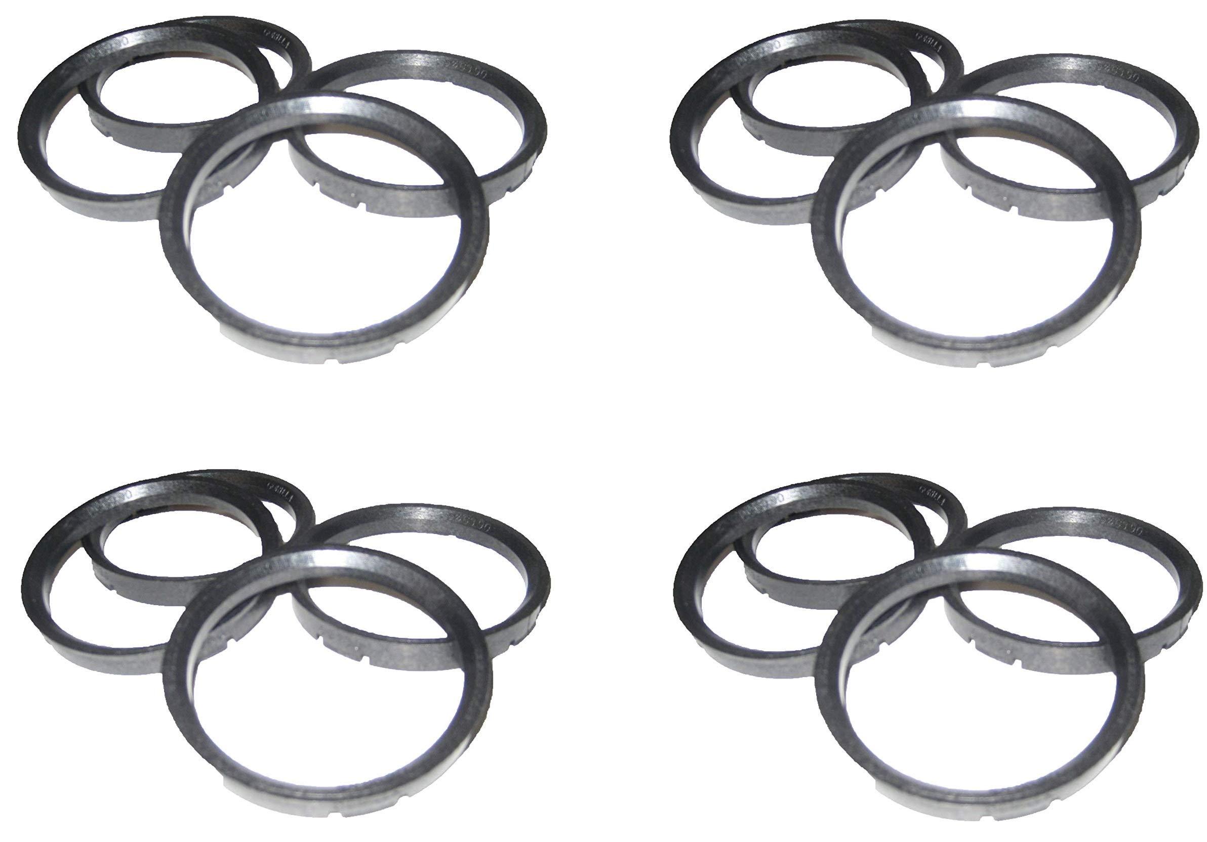 Gorilla Automotive 108-7810 Wheel Hub Centric Rings (108mm OD x 78.10mm ID) (4)