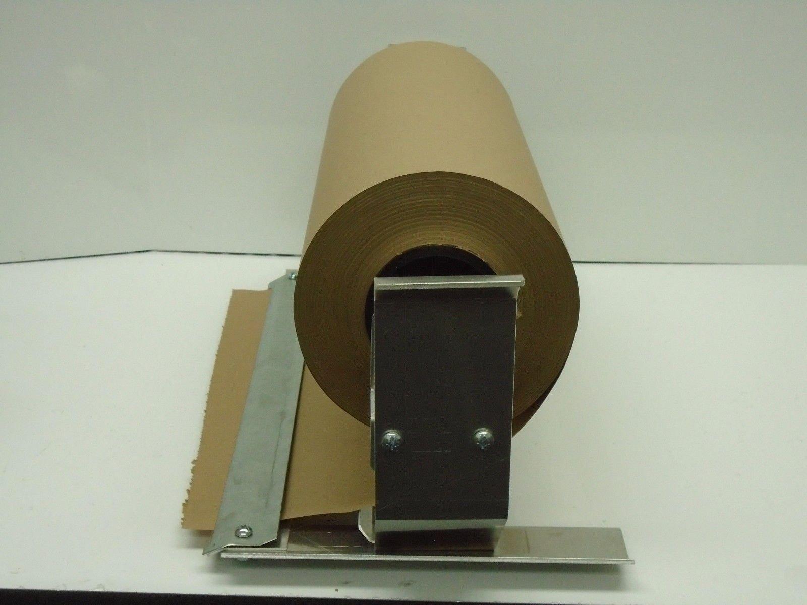 Paper Cutter Roll Dispenser Econoline 18 inches table mount Kraft paper Duralov by Duralov (Image #5)