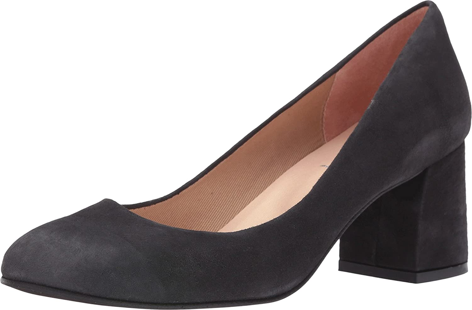 French Sole Women's Trance Grey Suede Pump 6 M