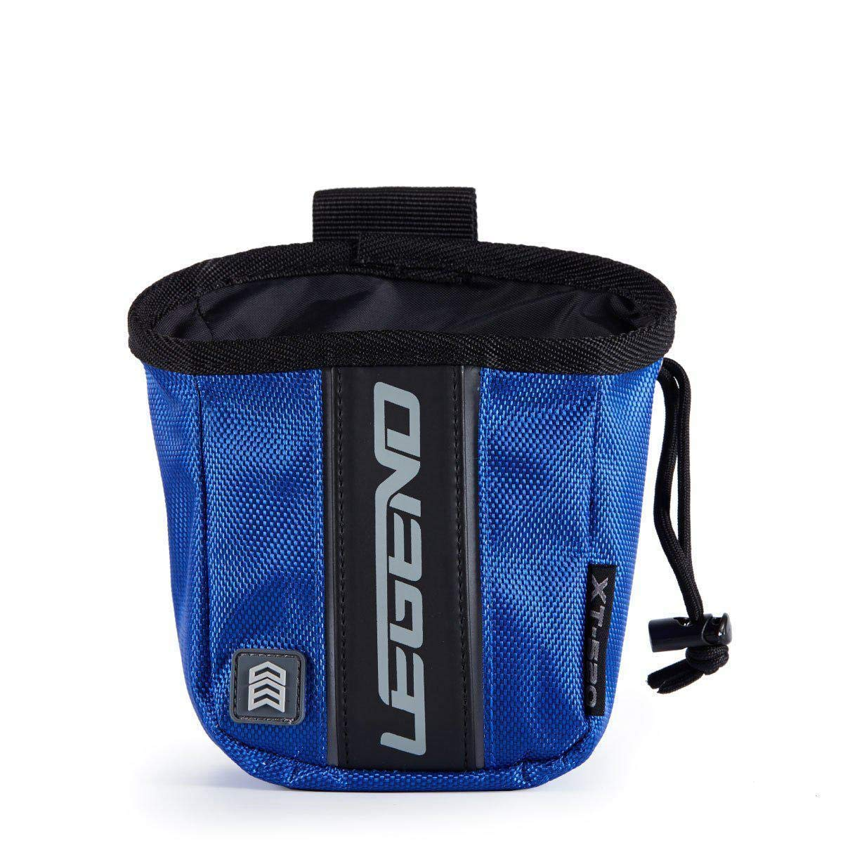 Legend Archery Release Aids Pouch Bag with Belt Loop Draw String and Zipped Pocket XT520 (Blue) by Legend