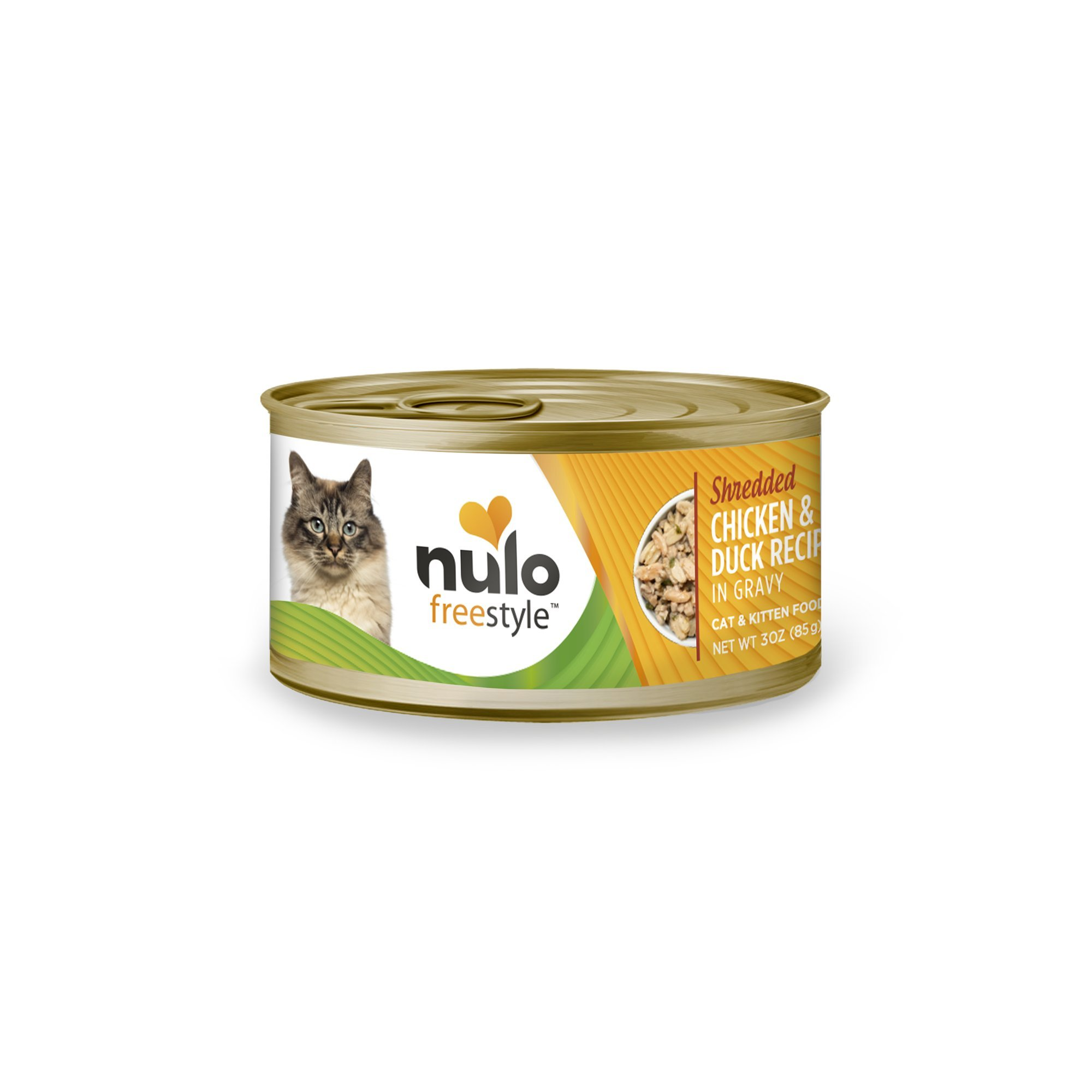 Nulo Adult & Kitten Grain Free Canned Wet Cat Food (Chicken & Duck Recipe, 3 Oz, Case Of 24) by Nulo