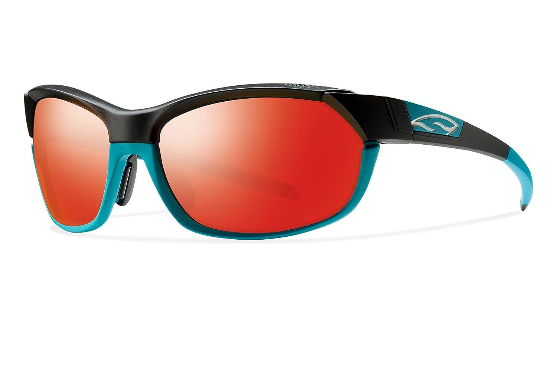 98dcf4f38e Amazon.com  Smith Optics Pivlock Overdrive Sunglass with Red Sol-X ...