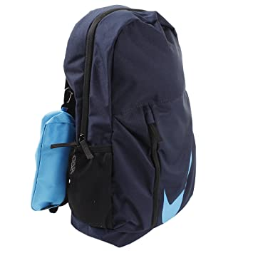 Nike 25 Ltrs Obsidian Black Equator Blue School Backpack (BA5405-452)   Amazon.in  Bags, Wallets   Luggage a744a60473