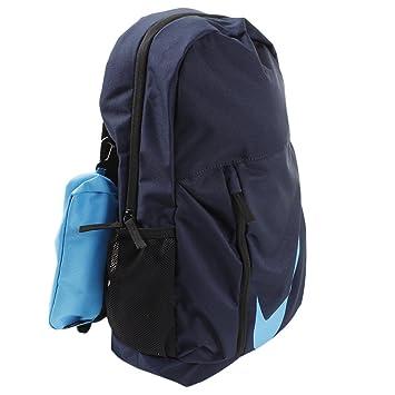 Nike 25 Ltrs Obsidian Black Equator Blue School Backpack (BA5405-452)   Amazon.in  Bags, Wallets   Luggage d9ae3282fa