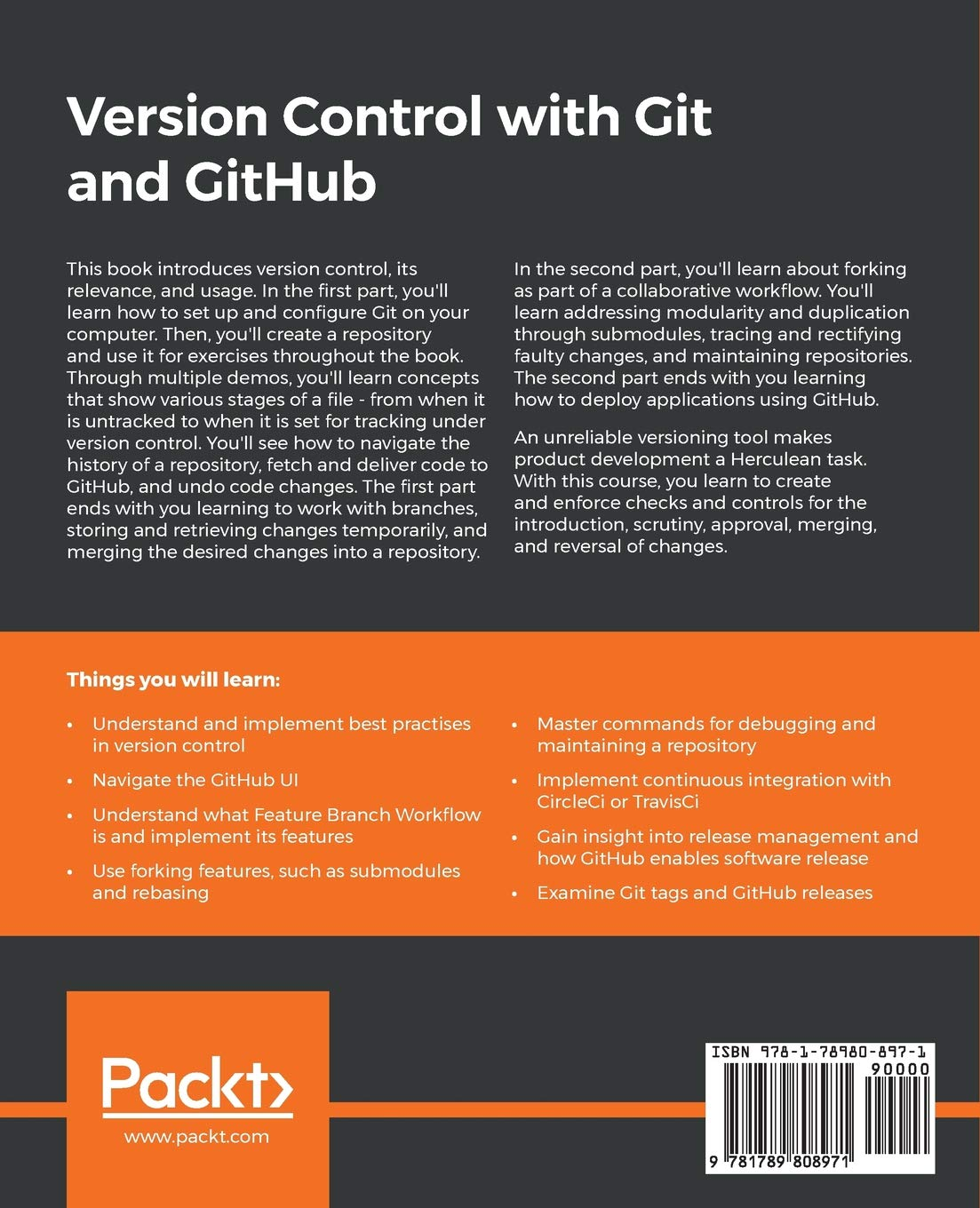 Version Control with Git and GitHub: Discover the most