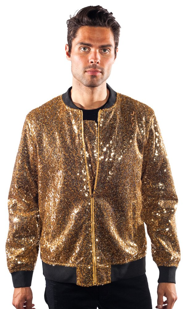 Barabas Glam Gold Jacket, XX Large