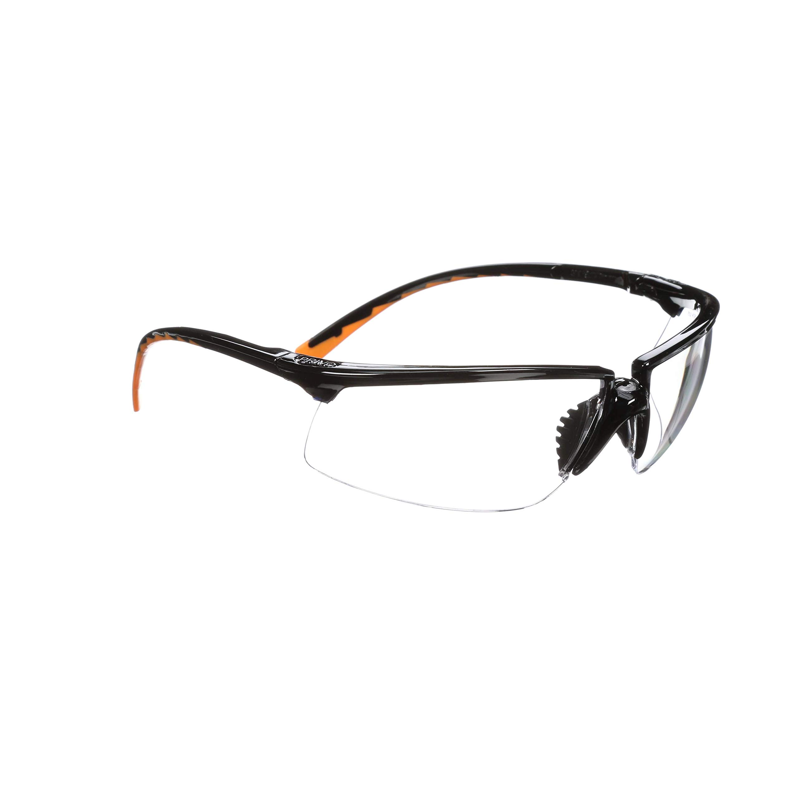 3M Privo Protective Eyewear, 12261-00000-20 Clear Anti-Fog Lens, Black Frame (Pack of 20) by 3M Personal Protective Equipment (Image #2)
