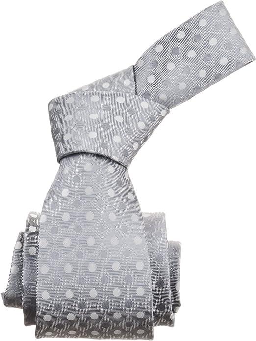 Republic Men/'s Dotted Woven Microfiber Tie