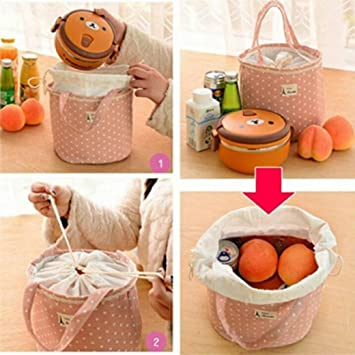Thermische Isolierte Lunchbox Tote Kühltasche Bento Pouch Lunch Container Tasche