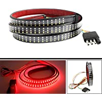 """SOCAL-LED 1x 48"""" Triple Row LED Tailgate Light Bar Strip Red White Yellow Switchback, Sequential Turn Signal/Reverse…"""