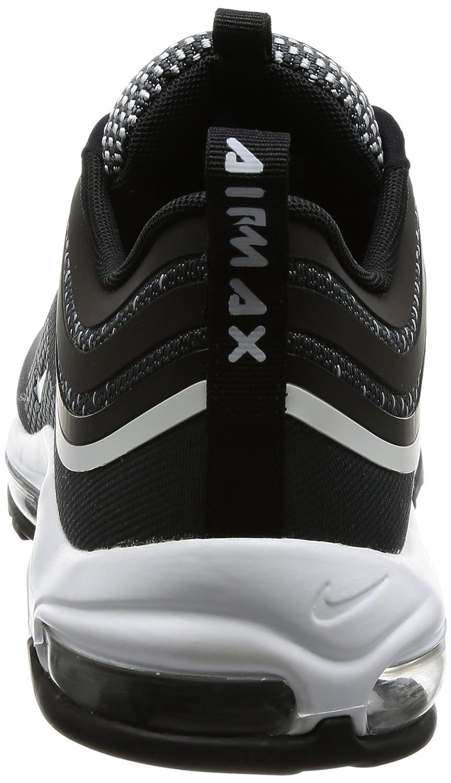 Nike Men's Air Max 97 Ultra '17 Black and Silver Sneaker 42(IT) 9(US) Black
