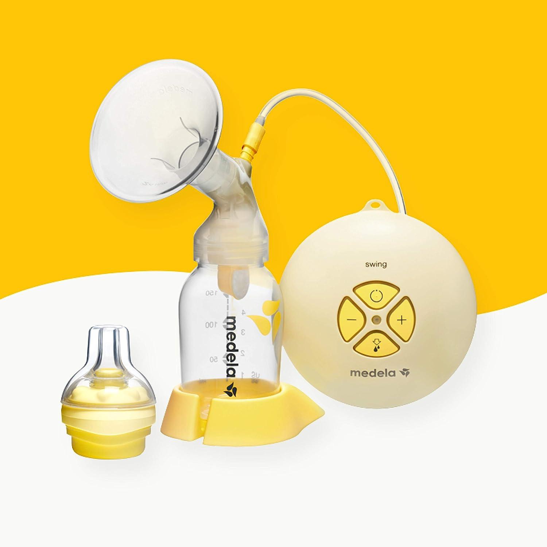 Medela - Tire-lait électrique simple pompage Swing - Technologie stimulation et expression - Petit et silencieux 030.0028