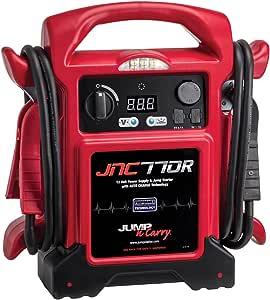 Clore Automotive Jump-N-Carry JNC770R 1700 Peak Amp Premium 12 Volt Jump Starter - Red
