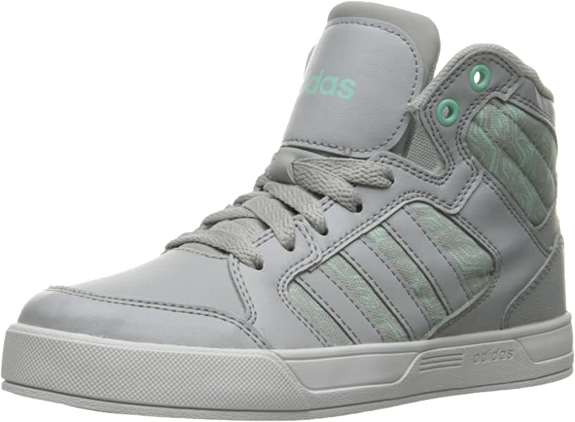 pretty nice d8163 5dac8 adidas Raleigh Mid (Little Big Kid) Sneaker, Clear Onix Running White