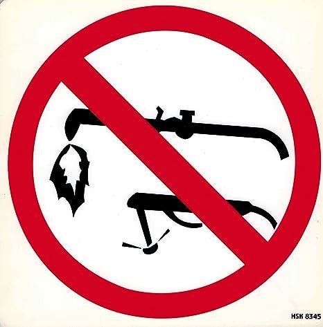 Cartel prohibido – Soldadura – Talla 20 x 20 cm – 308345