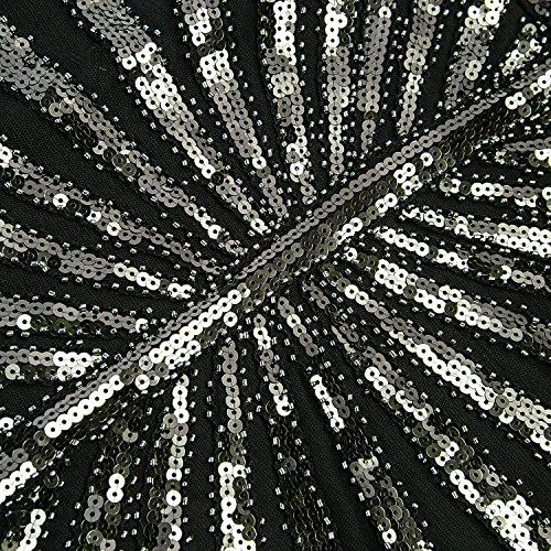 Flapper Robe pour Fringed Lounge Bal Sequin Femmes La Vintage Nouba Tenue 1920 Fte Annes Roaring Prom Metme Gatsby q78gOzYO