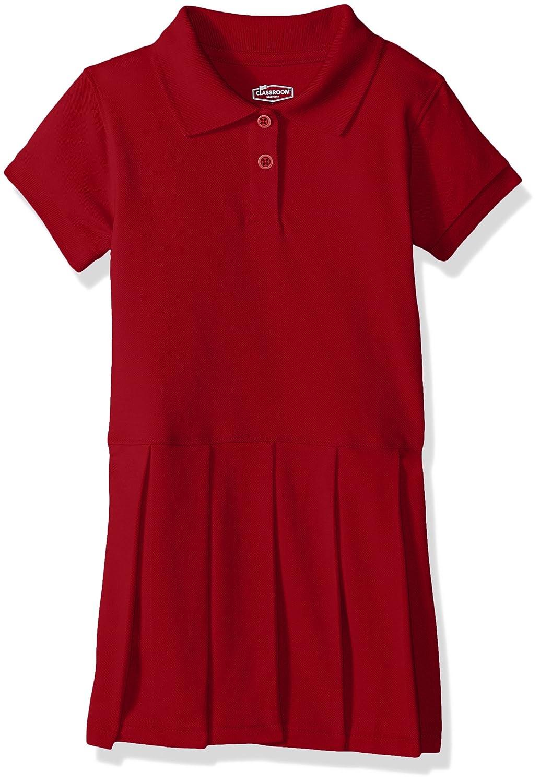 dfc206d7f5233 Classroom School Uniforms Girls' Pique Polo Dress