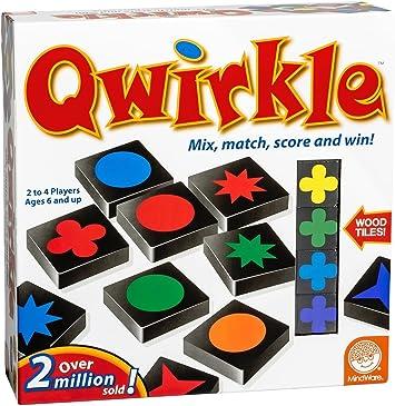Brain Box - Qwirkle, Juego de Mesa en inglés (M32016): Mindware ...