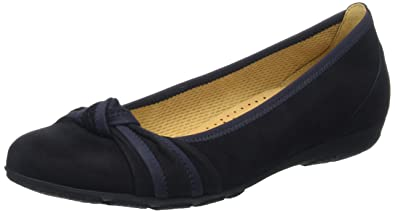 Gabor Shoes Gabor Casual, Ballerines Femme, Bleu (Pazifik), 38 EU