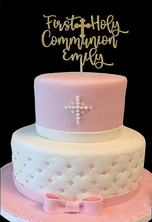 Decoración para tarta de Primera Comunión, decoración para tarta ...