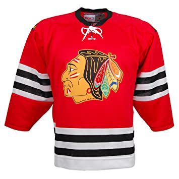 c236375f CCM Chicago Blackhawks Vintage Replica Jersey 1960 (Red) - XX-Large ...
