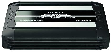 Fusion PF-8001D - Amplificador monocanal (Clase D, 3200 W), color