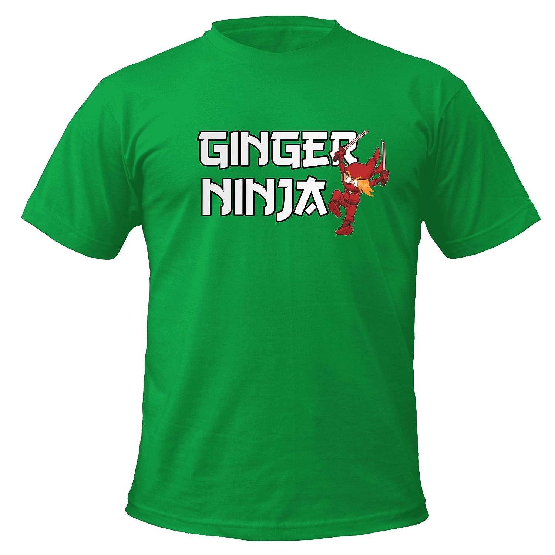 Ginger Ninja T-Shirt | Amazon.com