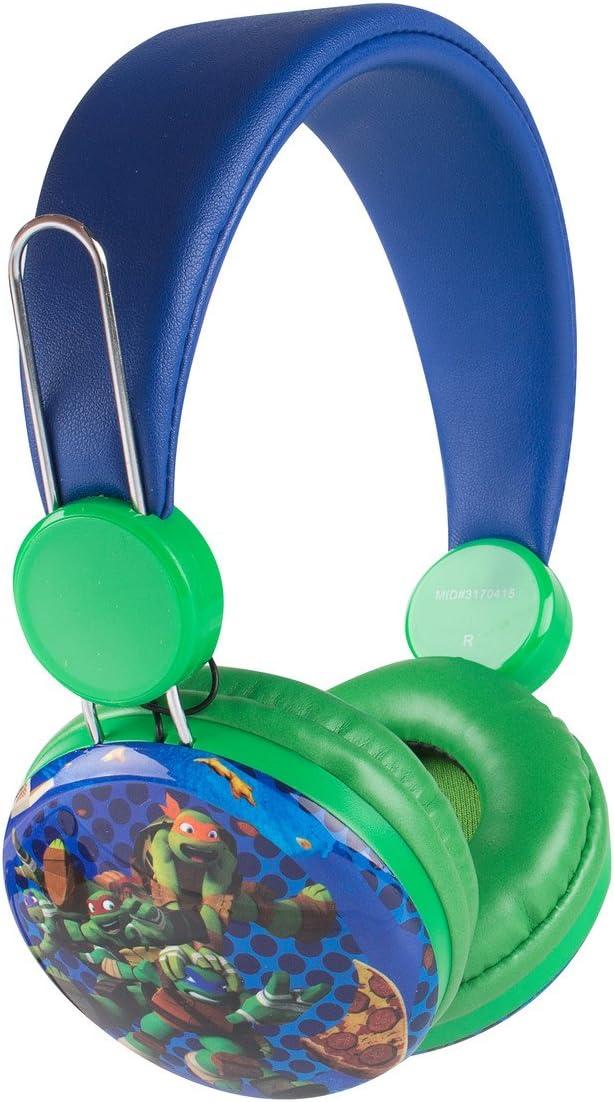 Sakar TM-HP-1 Over the Ear Kids Safe Headphones (Teenage Ninja Turtles)