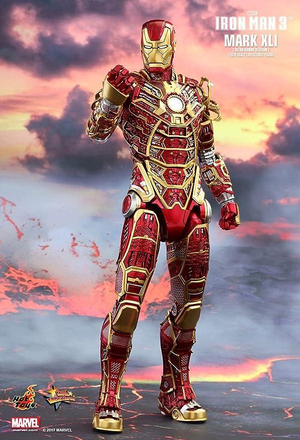 Amazon.com: Hot Toys HT902963 Marvel Iron Man Mark XLI ...