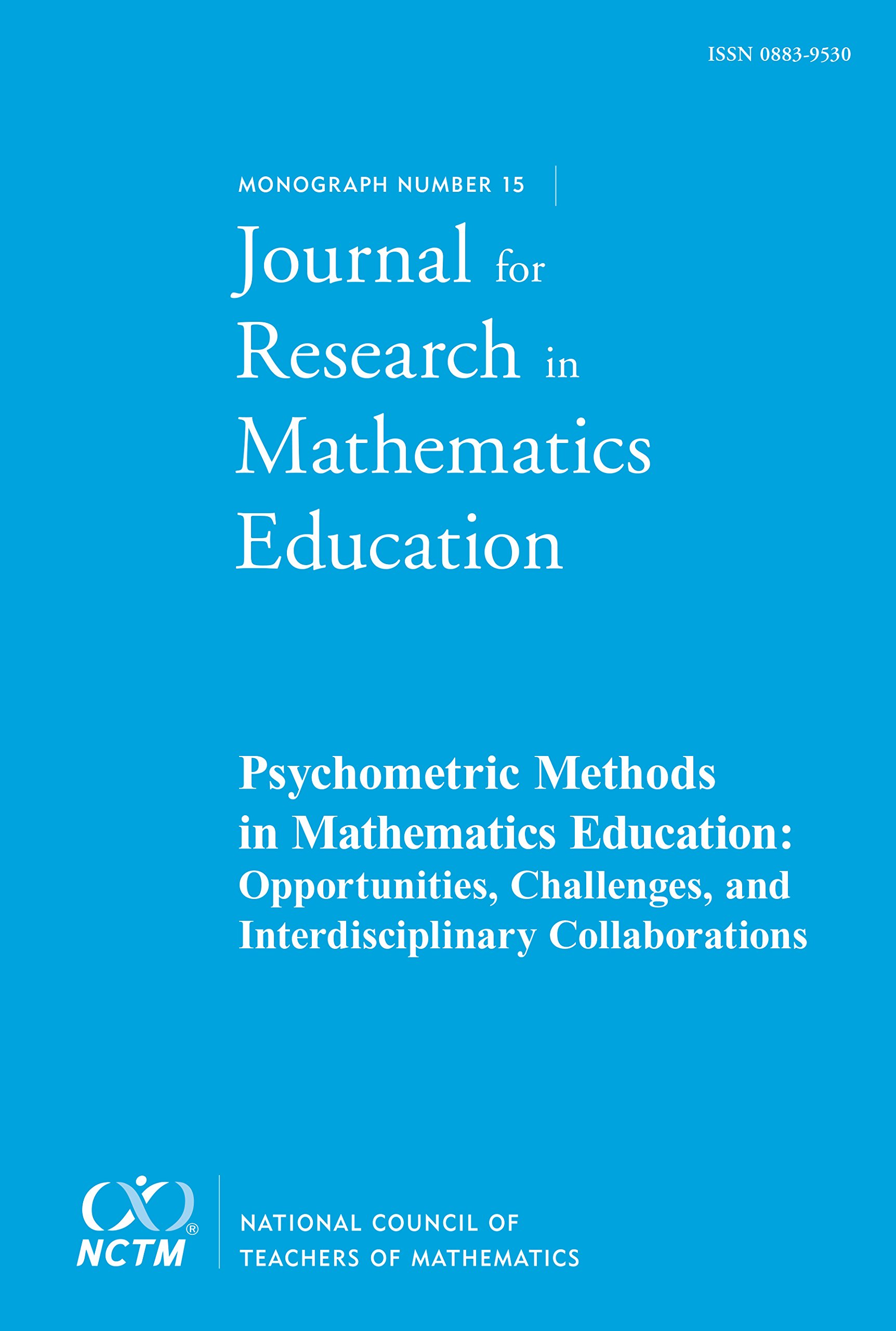 Download Psychometric Methods in Mathematics Education, JRME Monograph #15 PDF