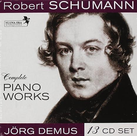 works schumann piano
