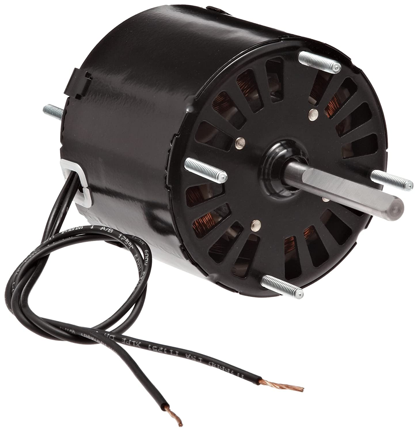 "Fasco D132 3.3"" Frame Open Ventilated Shaded Pole General Purpose Motor with Sleeve Bearing, 1/20HP, 1500rpm, 115V, 60Hz, 1.8 amps, CW Rotation"