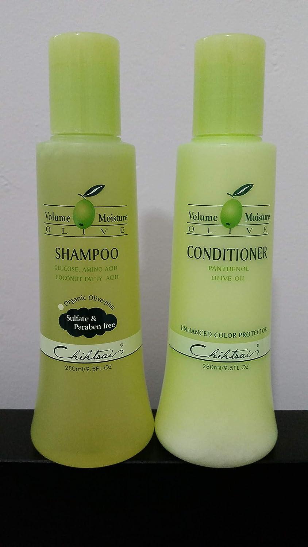 Chihtsai Olive Shampoo & Conditioner set 9.5 oz EACH