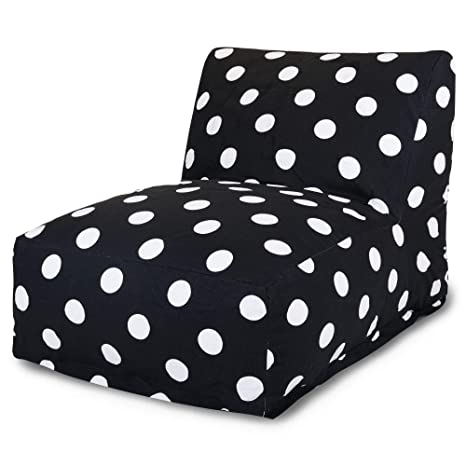Amazon.com: Majestic Home Goods Negro Large Polka Dot Bean ...