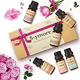Skymore Top 6 Olio Essenziale Set,San Valentino presente --- Sonno, Respira, Relax, Aggiorna, Immunità e Decompressione, Olio Umidificatori Aromaterapia, 100% Pure & Naturali Ingredienti