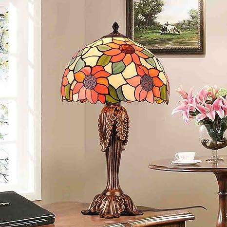 Lampada Stile Tiffany Retro Lampada Da Comodino Camera Da