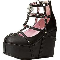 Demonia Womens POI25-1/BVL Poison-25-1 Black Size: