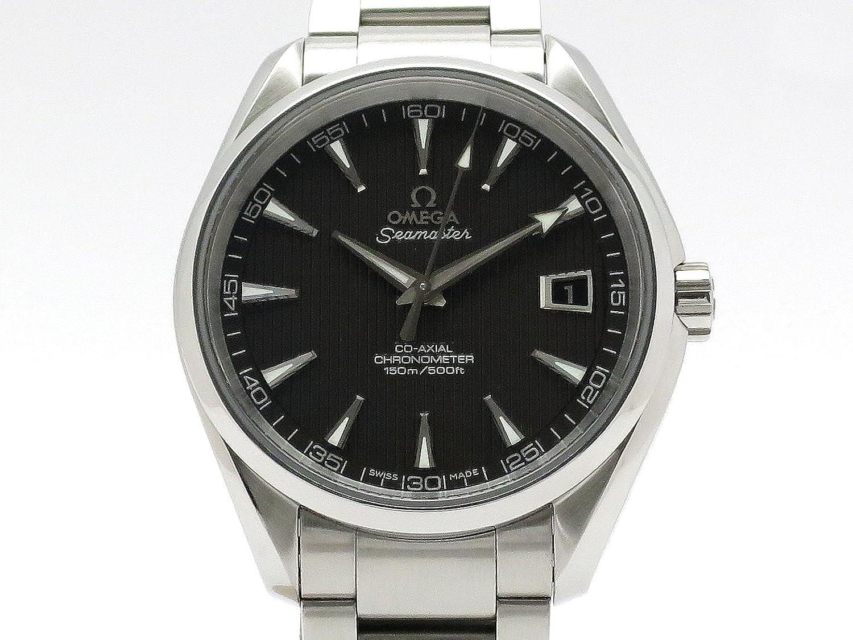 (オメガ) OMEGA 腕時計 シーマスター アクアテラ コーアクシャル SS 231.10.42.21.06.001 メンズ 中古 B00L2A8UDQ